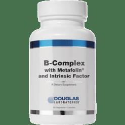 Douglas Labs B Complex w Metafolin 60 vcaps BCM60