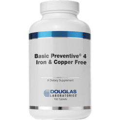 Douglas Labs Basic Preventive 4 FEampCU free 180 tabs BP4