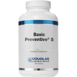 Douglas Labs Basic Preventive 5® Iron Free 180 tabs BP5
