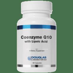 Douglas Labs Coenzyme Q10 w Lipoic Acid 60 mg 60 caps COQ72