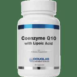 Douglas Labs Coenzyme Q10 w Lipoic Acid 60mg 30caps COQ19
