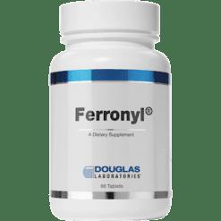 Douglas Labs Ferronyl w Vitamin C 60 tabs FERR3