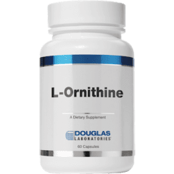 Douglas Labs L Ornithine 500mg 60 caps ORNI2