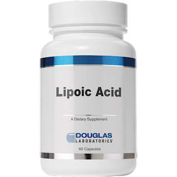Douglas Labs Lipoic Acid 100 mg 60 caps LIPO6