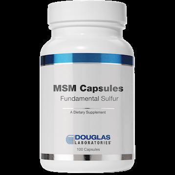 Douglas Labs MSM Capsules Fundamental Sulfur 100 caps MSMC