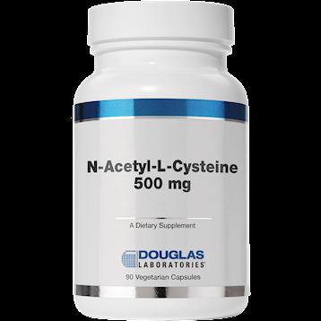 Douglas Labs N Acetyl L Cysteine 500 mg 90 vcaps NACE