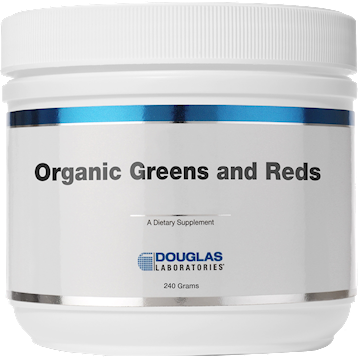 Douglas Labs Organic Greens amp Reds Powder 240 g OGR24