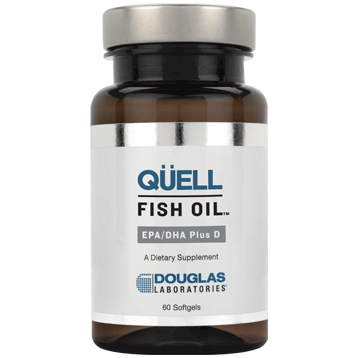 Douglas Labs Quell Fish Oil EPA DHA D 60 softgels D37737