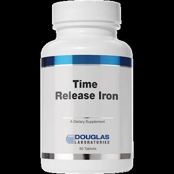 Douglas Labs Timed Released Iron 90 tabs IRO16