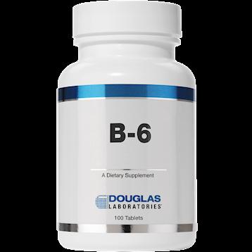 Douglas Labs Vitamin B 6 100 mg 100 tabs VIB64