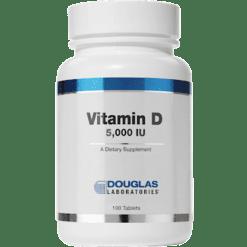 Douglas Labs Vitamin D 5000 IU 100 tabs VID22