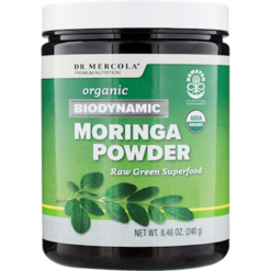 Dr. Mercola Biodynamic Moringa Powder 120 servings M18937