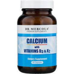 Dr. Mercola Calcium with Vitamins D3 and K2 30 caps M19941
