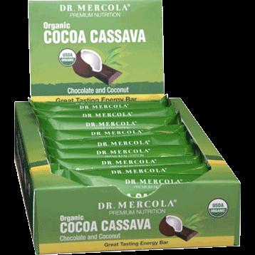 Dr. Mercola Cocoa Cassava Bar 12 Bars D11426