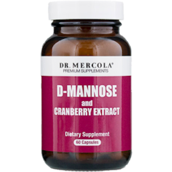 Dr. Mercola D Mannose and Cranberry Extract 60 caps DM0528