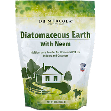 Dr. Mercola Diatomaceous Earth W Neem 1 lb M03127