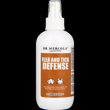 Dr. Mercola Flea and Tick Defense Spray 8 fl oz DM2140
