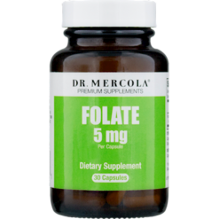 Dr. Mercola Folate 5 mg 30 caps M30861