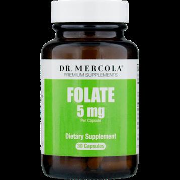 Dr. Mercola Folate 5 mg 30 caps M30861