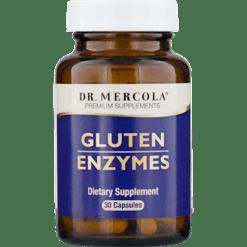 Dr. Mercola Gluten Enzymes 30 caps M30939