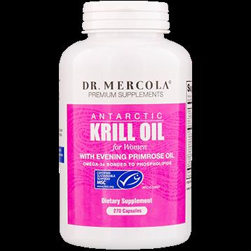 Dr. Mercola Krill Oil for Women with EPO 270 capsules DM0290