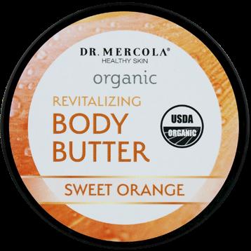 Dr. Mercola Organic Body Butter Sweet Orange 4 oz DM0504