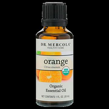 Dr. Mercola Organic Orange Essential Oil 1 fl oz DM6544