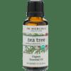 Dr. Mercola Organic Tea Tree Essential Oil 1 fl oz DM6575