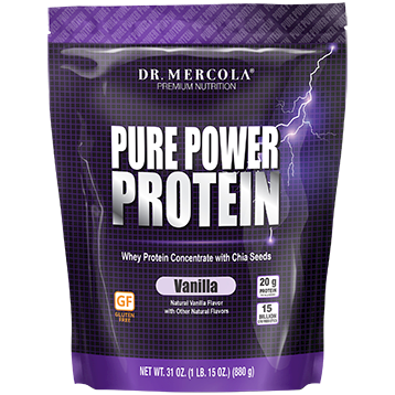 Dr. Mercola Pure Power Protein Vanilla 31 oz DM6032