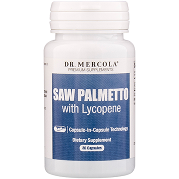 Dr. Mercola Saw Palmetto with Lycopene 30 licaps DM2331