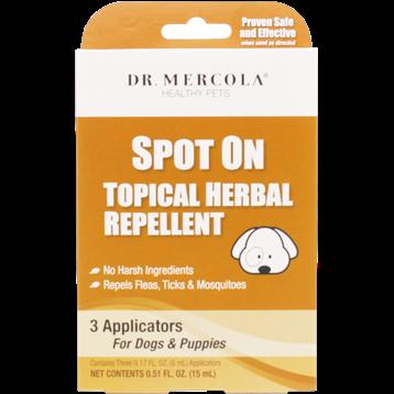 Dr. Mercola SpotOn Herbal Repellent Dogs 3 app DM6414