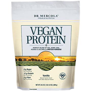 Dr. Mercola Vegan Protein Vanilla 24.3 oz DM5356
