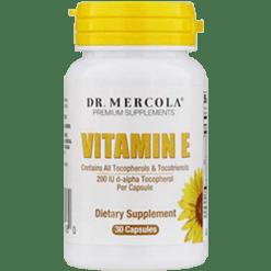 Dr. Mercola Vitamin E 30 Licaps DM5080