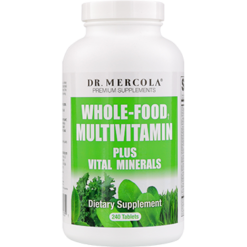 Dr. Mercola Whole Food Multivitamin Plus 240 tablets DM0351