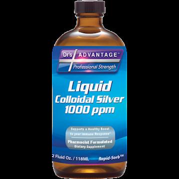 Drs Advantage Colloidal Silver 1000 ppm 2 oz DR912