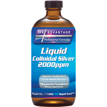 Drs Advantage Liquid Colloidal Silver 2000 ppm 2 fl oz DA9134