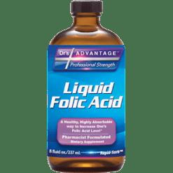 Drs Advantage Liquid Folic Acid Supplement 8 fl oz DR897