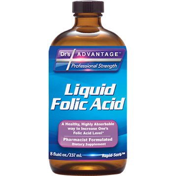 Drs Advantage Liquid Folic Acid Supplement 8 fl oz DR897
