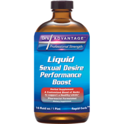 Drs Advantage Liquid Sexual Desire Perform 16 fl oz DR9318