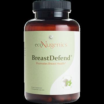 EcoNugenics Breast Defend 120 vegetarian capsules BRST120