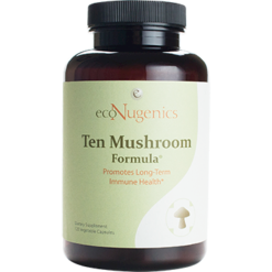 EcoNugenics MycoCeutics Ten Mushroom Forml 120 caps MYCO6