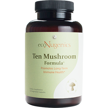 EcoNugenics MycoCeutics Ten Mushroom Forml 120 caps MYCO6