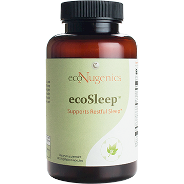 EcoNugenics ecoSleep 60 vegetarian capsules EC0249