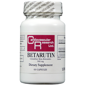 Ecological Formulas Betarutin 500 mg 60 caps BETA