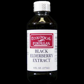Ecological Formulas Black Elderberry Extract 8 oz ELBUC