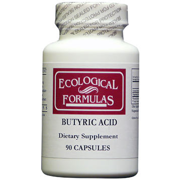 Ecological Formulas Butyric Acid 21 Ratio 90 caps BUTY4