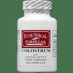 Ecological Formulas Colostrum 60 caps COL29