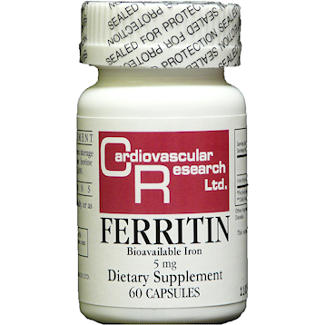 Ecological Formulas Ferritin 5 mg 60 caps FERRI