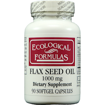 Ecological Formulas Flax Seed Oil 90 gels FLAX3