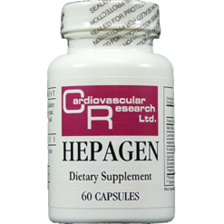 Ecological Formulas Hepagen 60 capsules HEPAG
